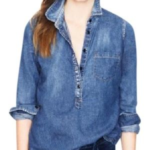 J. Crew Classic Chambray Popover shirt. Style item